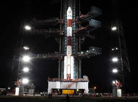 Chandrayan I, ready for lift-off at Sriharokota