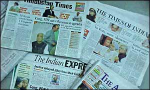 Mainstream Newspapers of India are debased