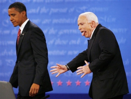 Sorry John McCain! May be in next life as the President of the USA